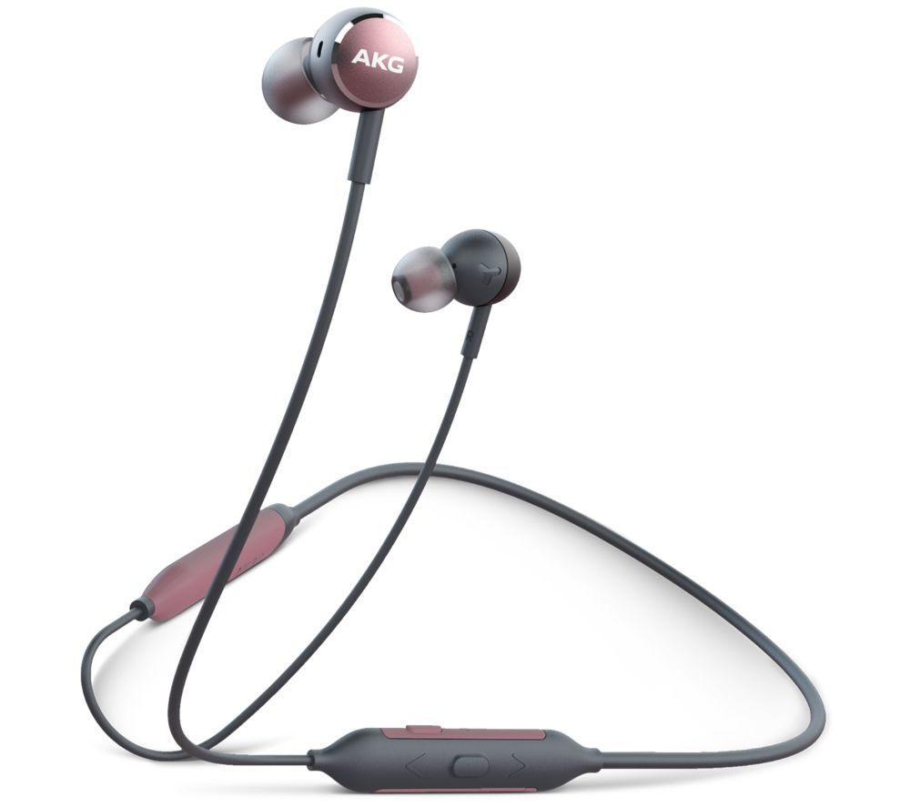 AKG Y100 Wireless Bluetooth Earphones - Pink