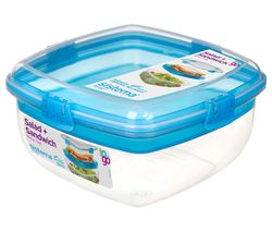 Salad & Sandwich To Go 1.63-litre Container