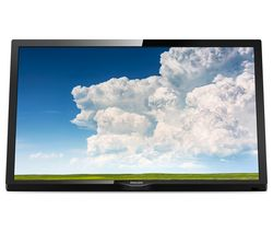 "PHILIPS 24PHT4304/05 24"" HD Ready LED TV - Black"