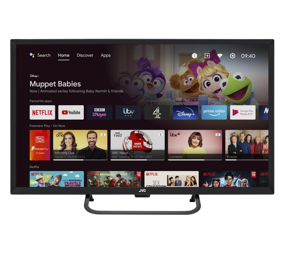 "32"" JVC LT-32CA690 Android TV Smart HD Ready LED TV with Google Assistant"