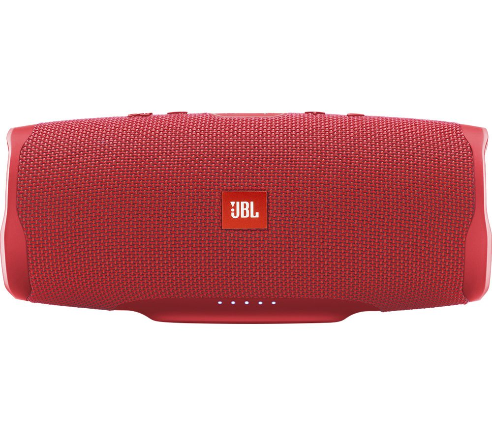 Charge 4 Portable Speaker - Fiesta Red, Red