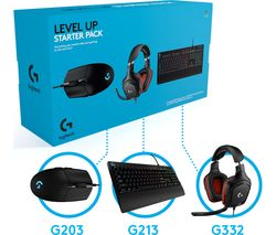 Level Up Keyboard, Mouse & Headset Starter Pack
