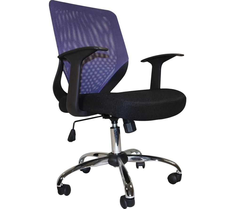 ALPHASON Atlanta Mesh Operator Chair - Purple, Purple