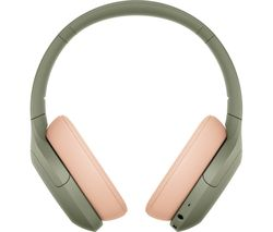 WH-H910 Wireless Bluetooth Noise-Cancelling Headphones -  Ash Green