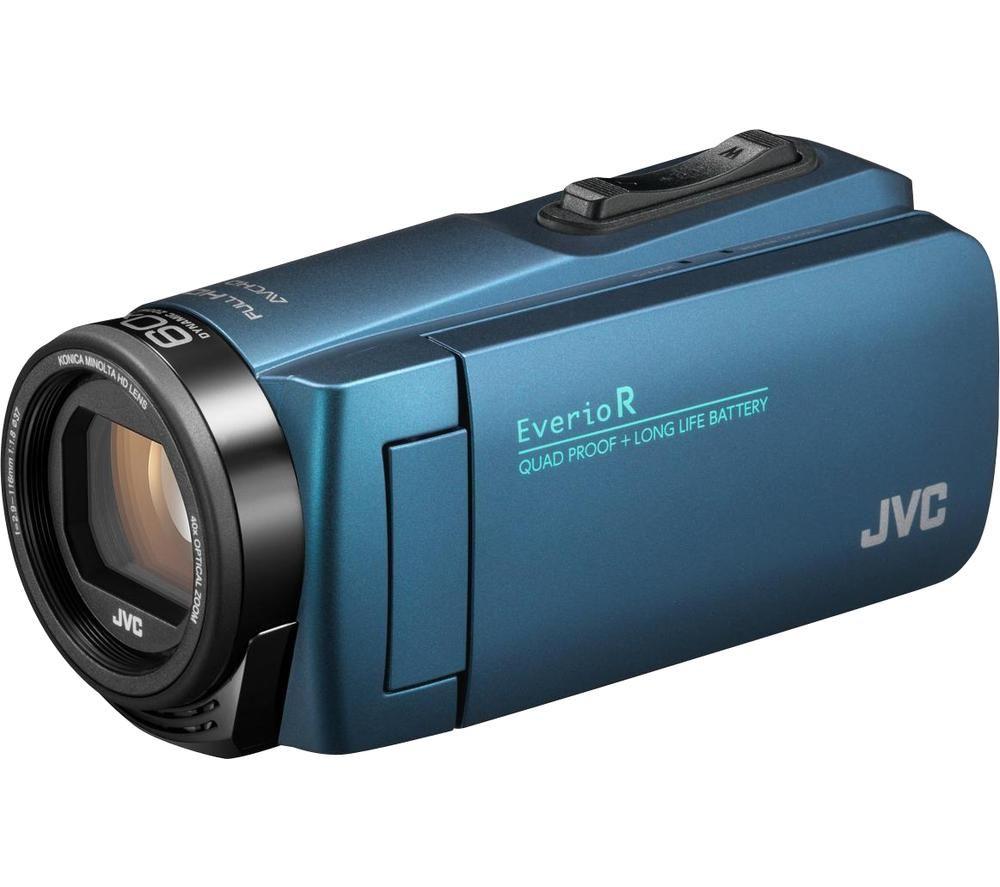 JVC Everio R GZ-R495AEK Camcorder - Blue