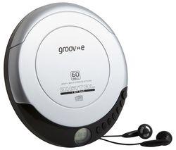 Retro GV-PS110-SR Personal CD Player - Silver