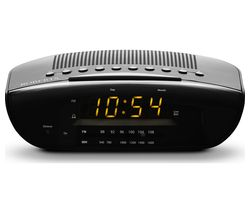 CR9971 Chronologic VI FM Clock Radio - Black