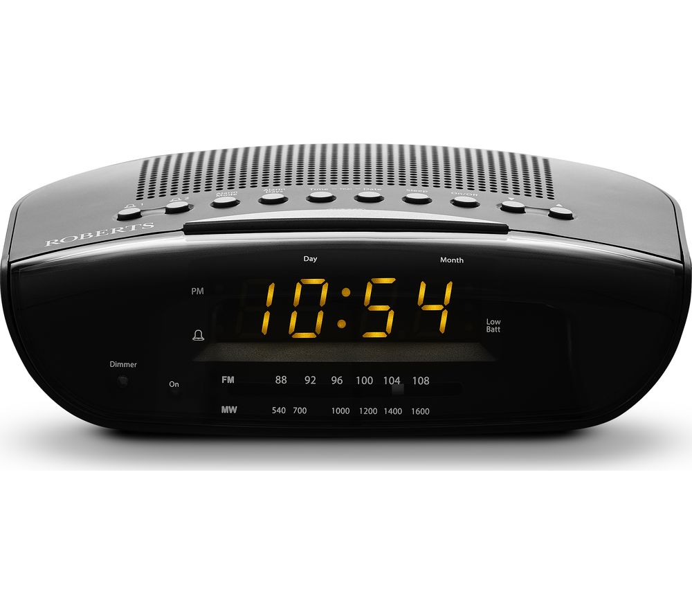 ROBERTS CR9971 Chronologic VI FM Clock Radio - Black