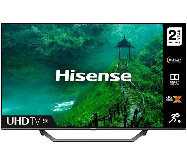 """Image of HISENSE 50AE7400FTUK 50"""" Smart 4K Ultra HD HDR LED TV"""