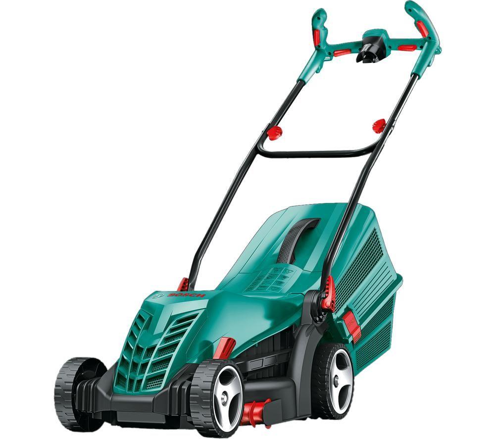 BOSCH Rotak 36 R Corded Rotary Lawn Mower - Green & Black, Green