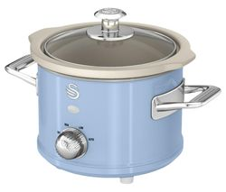 SWAN Retro SF17011 Slow Cooker - Blue Best Price, Cheapest Prices