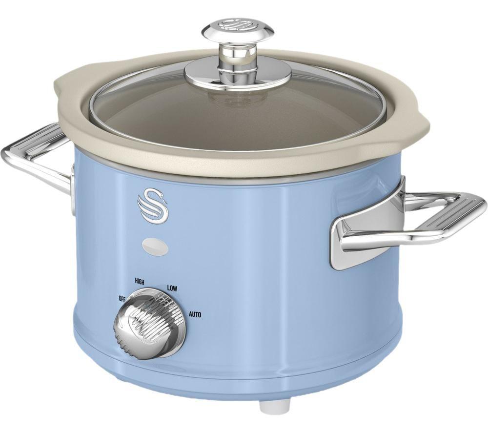 SWAN Retro SF17011 Slow Cooker - Blue