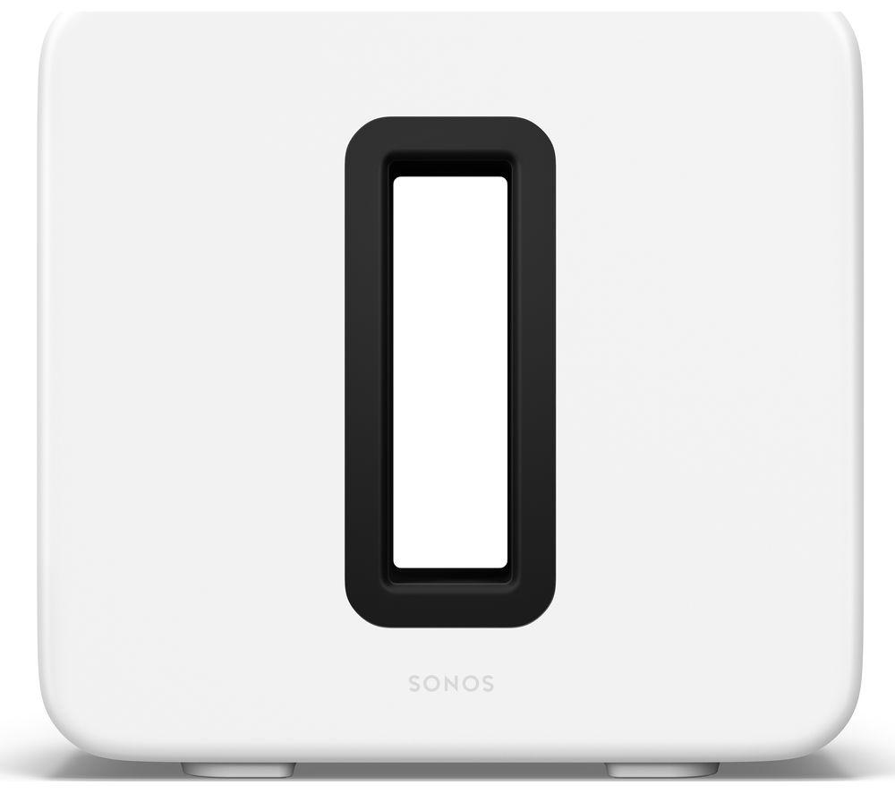 SONOS SUB (Gen 3) Wireless Subwoofer - White