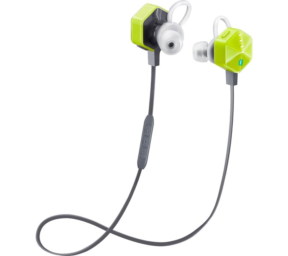 Image of FIIL Carat 99-00010-010201 Wireless Bluetooth Sports Earphones - Green, Green