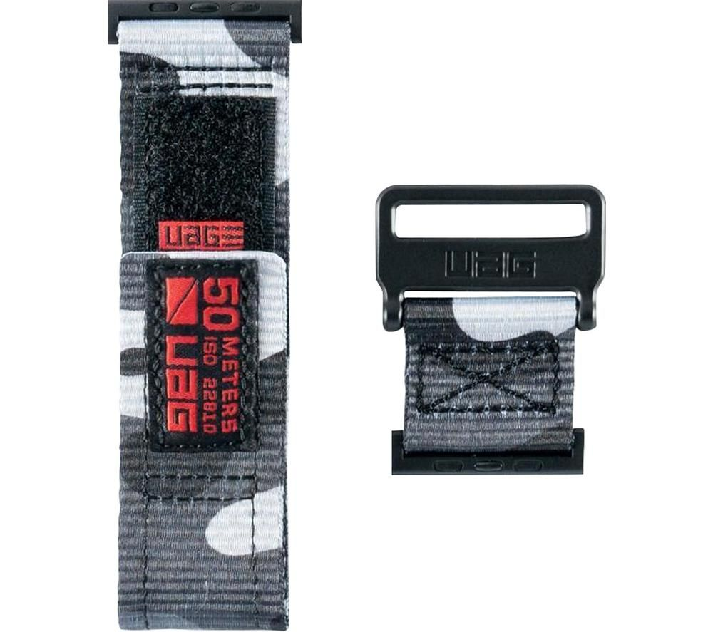 UAG Active Apple Watch 42-44 mm Strap - Midnight Camo