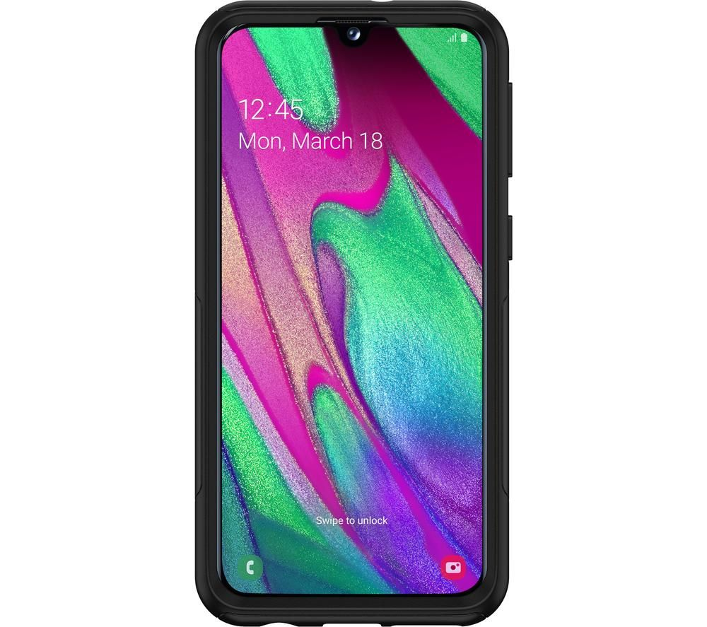 OTTERBOX Commuter Lite Galaxy A40 Phone Case - Black, Black