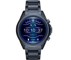 Drexler AXT2003 Smartwatch - Blue, Stainless Steel Strap, 48 mm