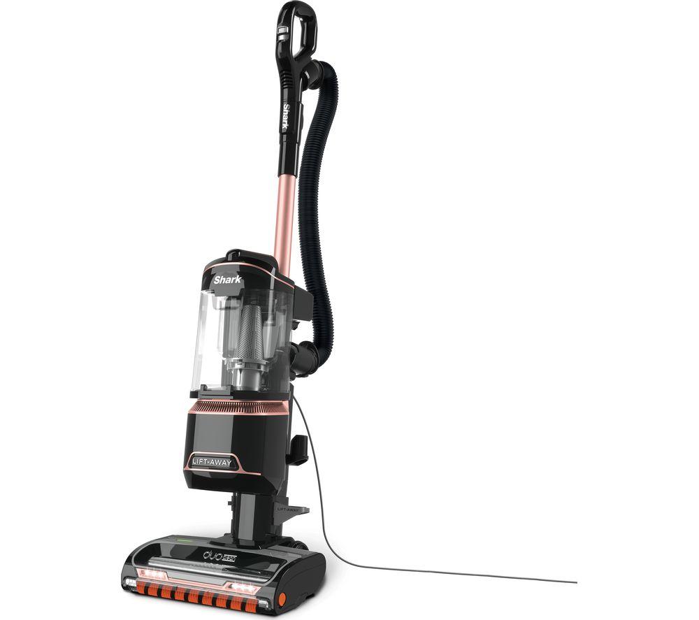 SHARK DuoClean Lift-Away True Pet NV702UKT Upright Bagless Vacuum Cleaner - Grey & Rose Gold