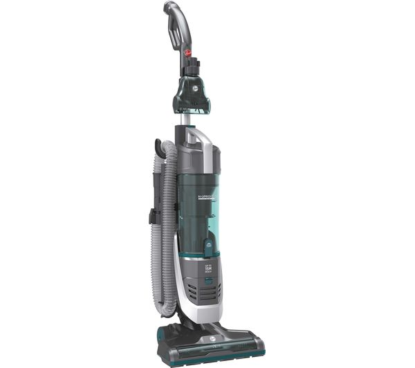 HOOVER H-Upright 500 HU500CPT Reach Pets Upright Bagless Vacuum Cleaner - Teal & Grey