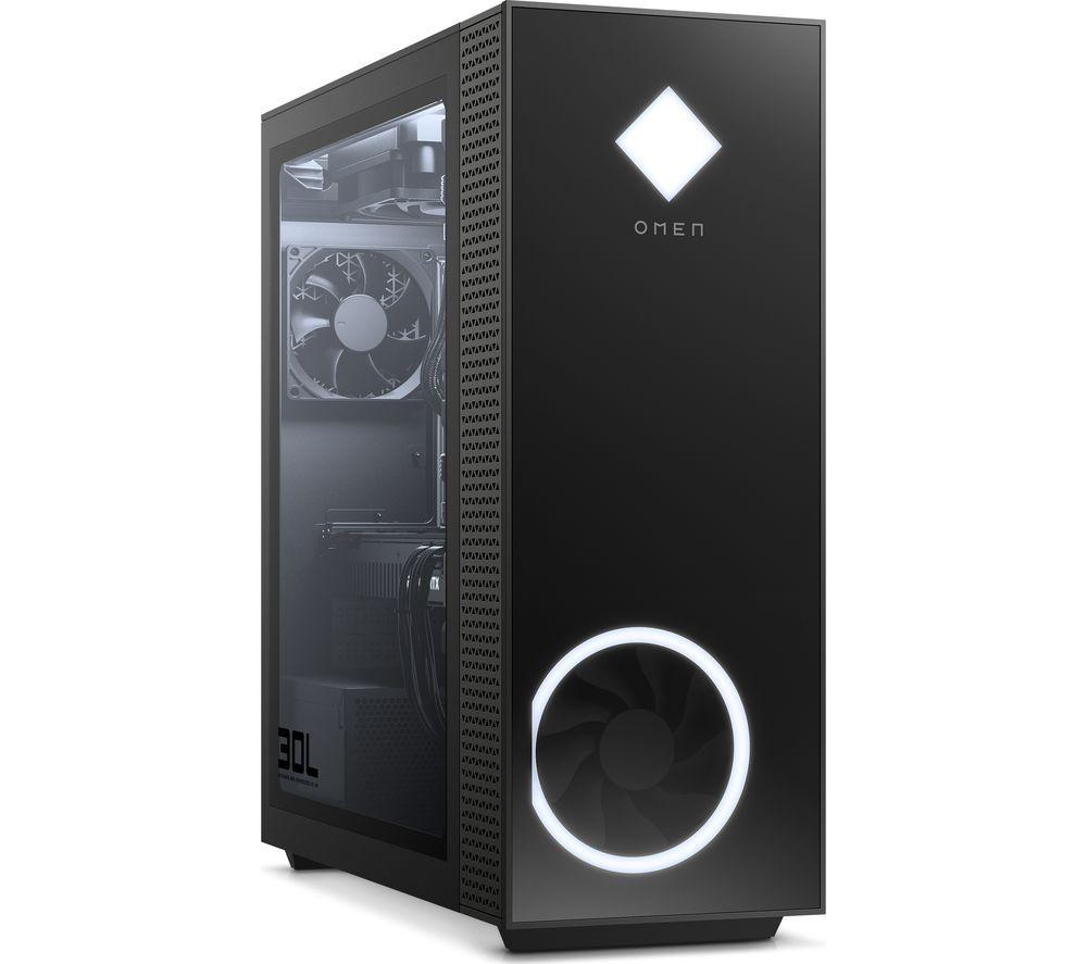 HP OMEN 30L Gaming PC - Intel® Core™ i7, RTX 3080, 2 TB HDD & 512 GB SSD