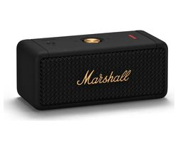 Emberton Portable Bluetooth Speaker - Black & Brass