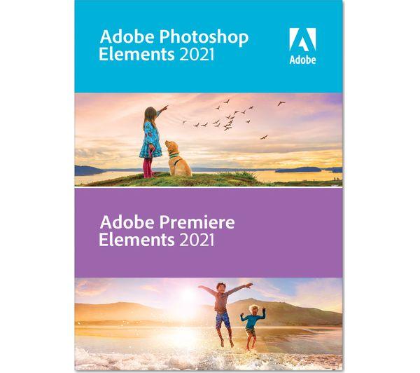 Image of ADOBE Photoshop Elements 2021 & Premiere Elements 2021