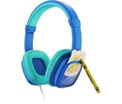 Colour & Swap Kids Headphones - Blue