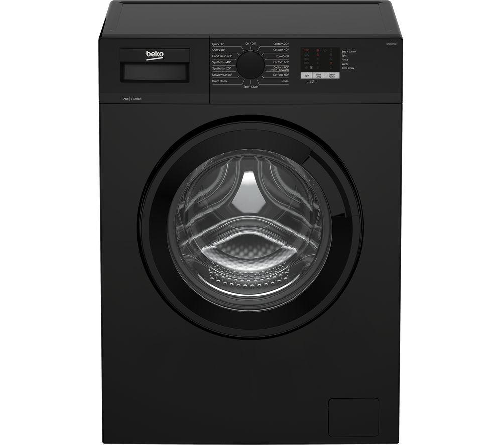 BEKO WTL74051B 7 kg 1400 Spin Washing Machine - Black