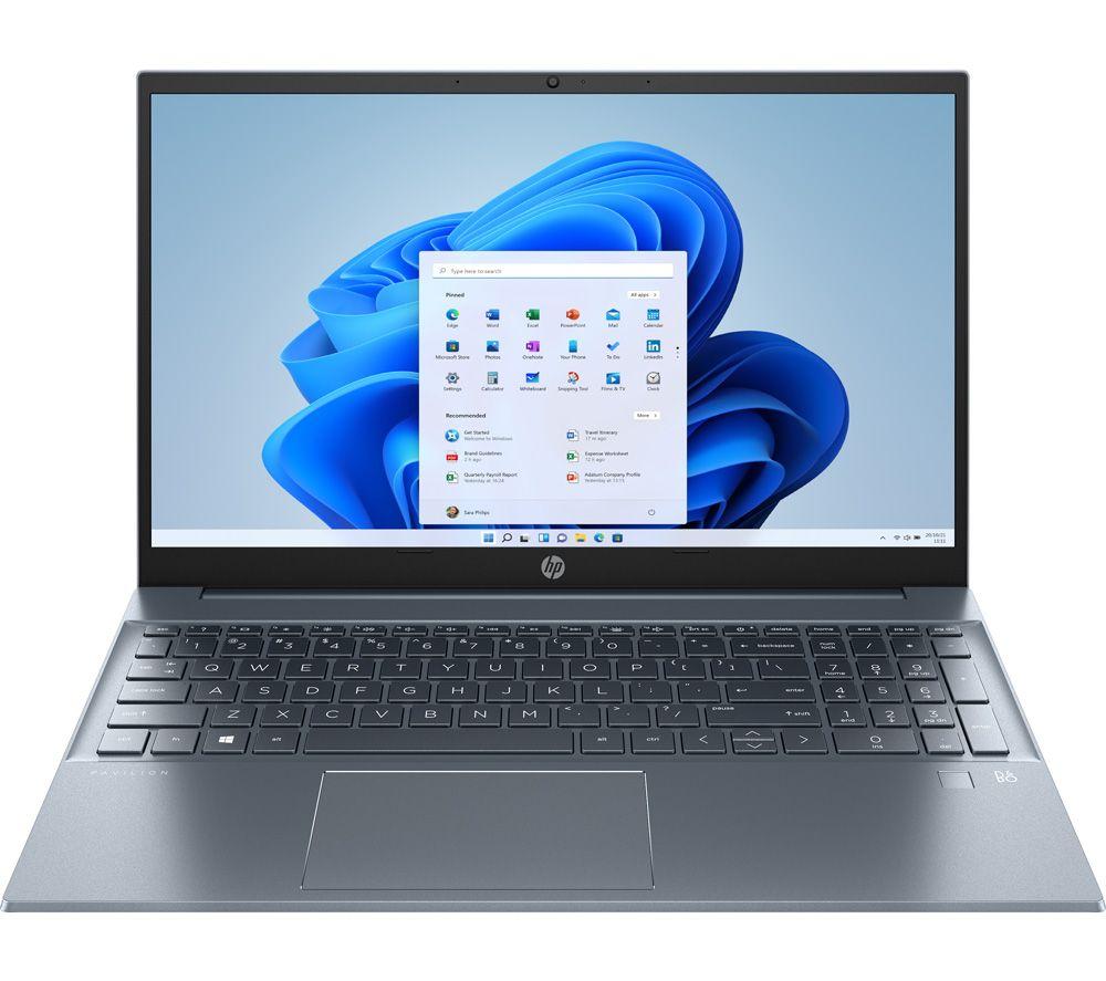 "HP Pavilion 15-eh0522sa 15.6"" Laptop - AMD Ryzen 3, 256 GB, Blue"