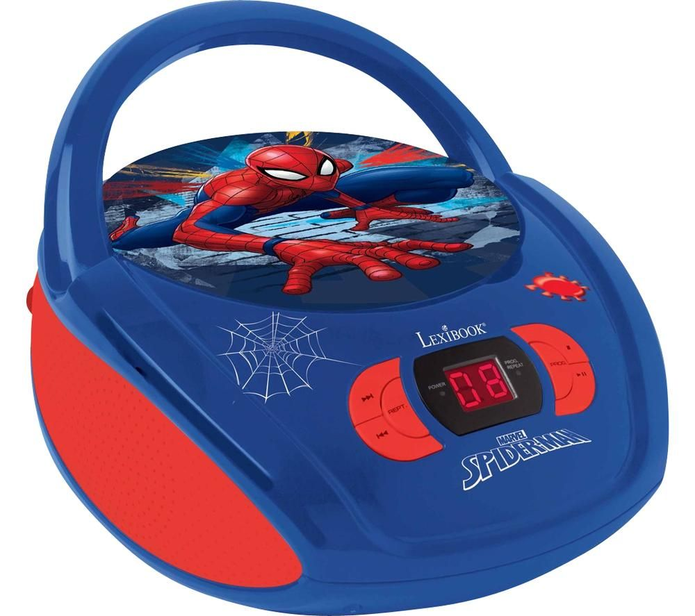 Image of LEXIBOOK RCD108SP Boombox - Spider-Man