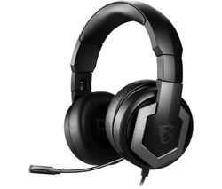 Immerse GH61 7.1 Gaming Headset - Black & Silver