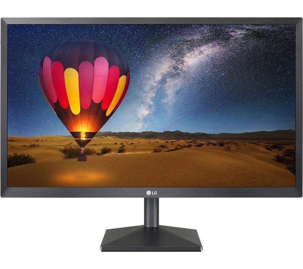 "LG 22MN430M-B Full HD 21.5"" IPS Monitor - Black"