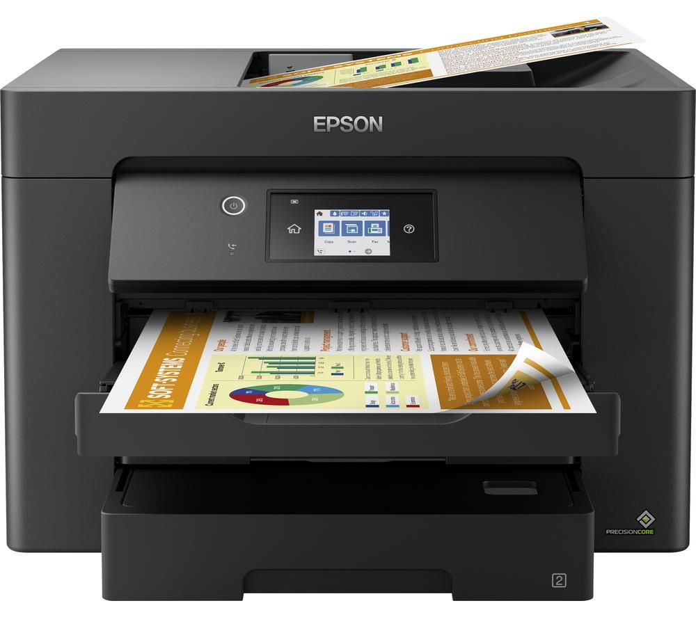 EPSON WorkForce WF-7830DTWF All-in-One Wireless A3 Inkjet Printer with Fax