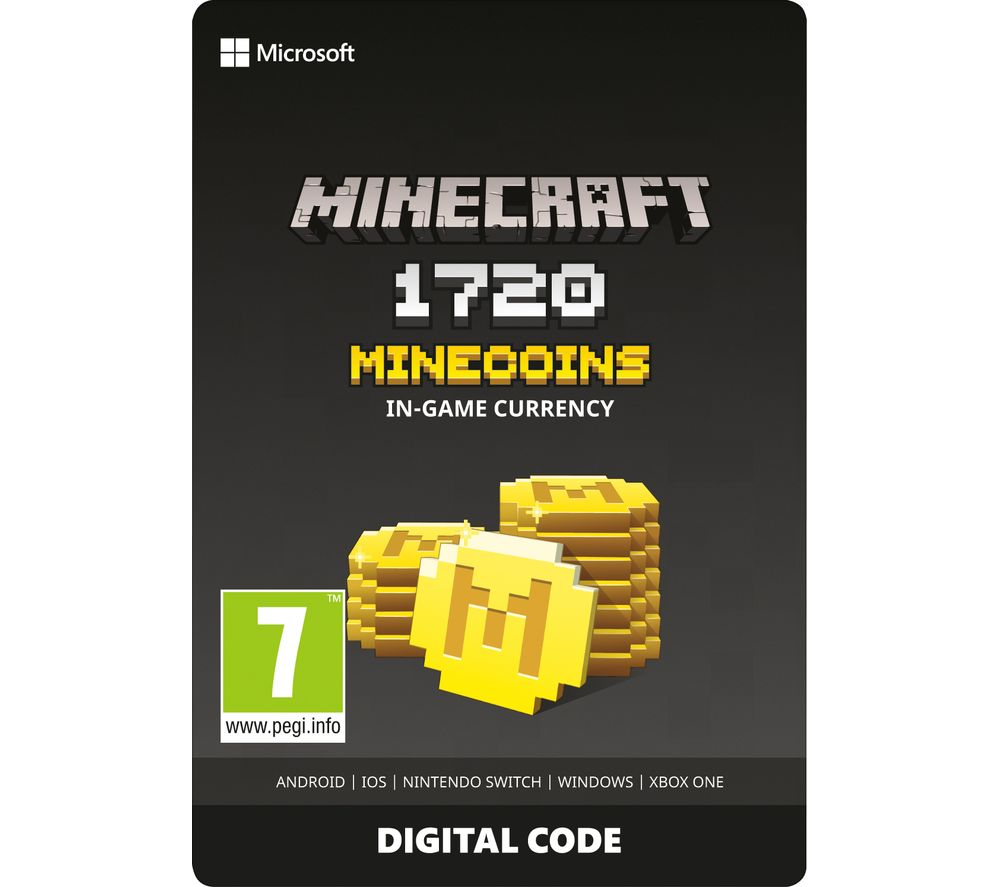 XBOX DIGITAL Minecraft Minecoins Pack - 1720 Coins