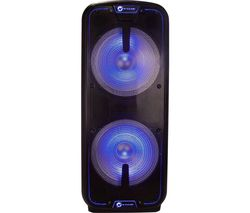 The Flash 3010 Bluetooth Megasound Party Speaker - Black