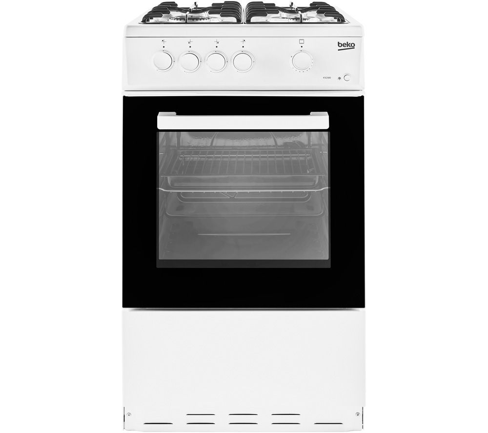 BEKO KSG580W 50 cm Gas Cooker - White
