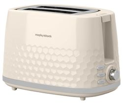 Hive 220032 2-Slice Toaster - Cream