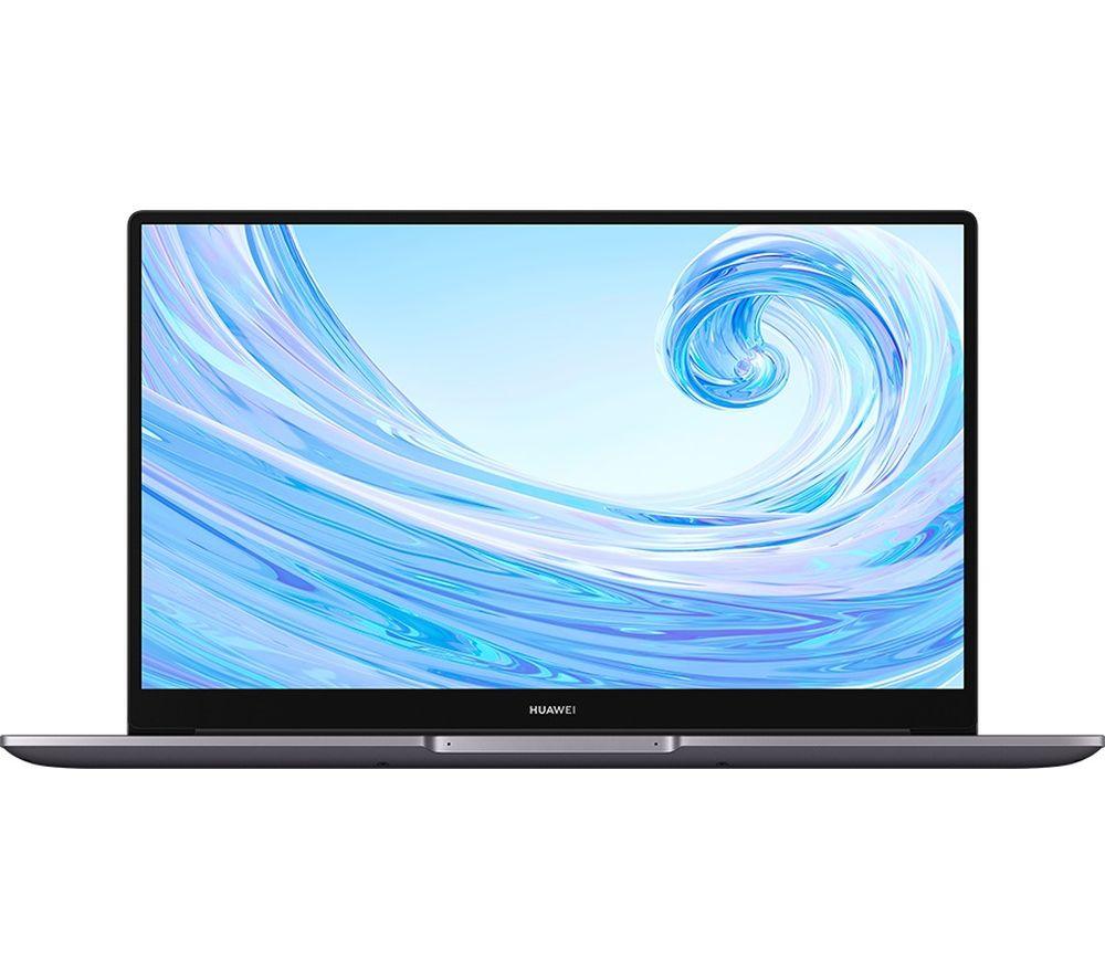 "Image of HUAWEI MateBook D 15.6"" Laptop - Intel®Core™ i3, 256 GB SSD, Grey, Grey"