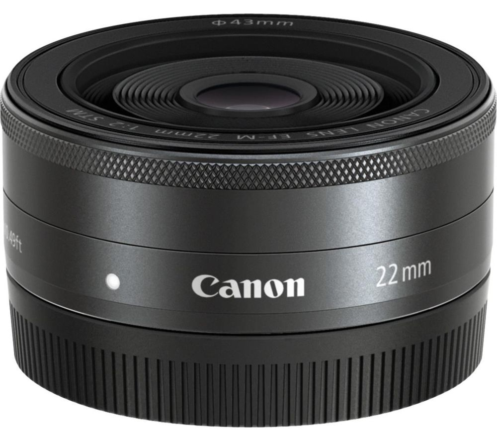 Compare cheap offers & prices of Canon EF-M 22 mm f-2 STM Pancake Lens manufactured by Canon