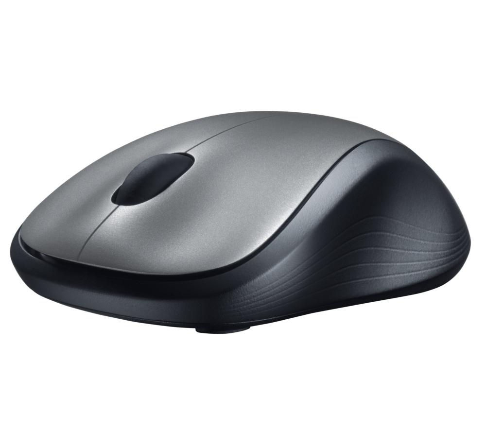 LOGITECH M310 Wireless Laser Mouse - Silver & Black