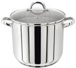 JUDGE VISTA PP82 24 cm Stock Pot - Stainless Steel