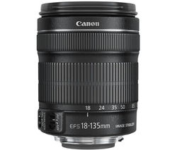 CANON EF-S 18-135 mm f/3.5-5.6 IS STM Standard Zoom Lens