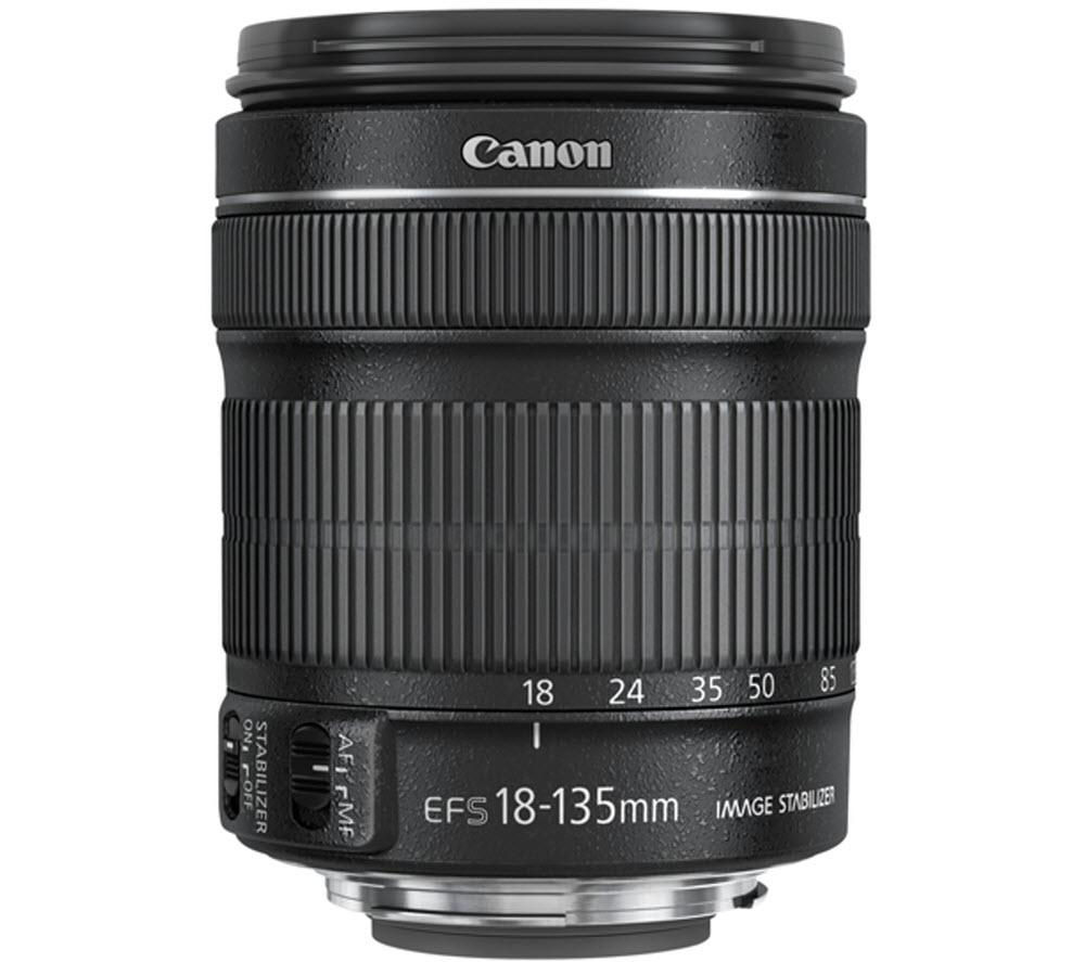 CANON EF-S 18-135 mm f/3.5-5.6 IS STM Standard Zoom Lens + DSLR Cleaning Kit