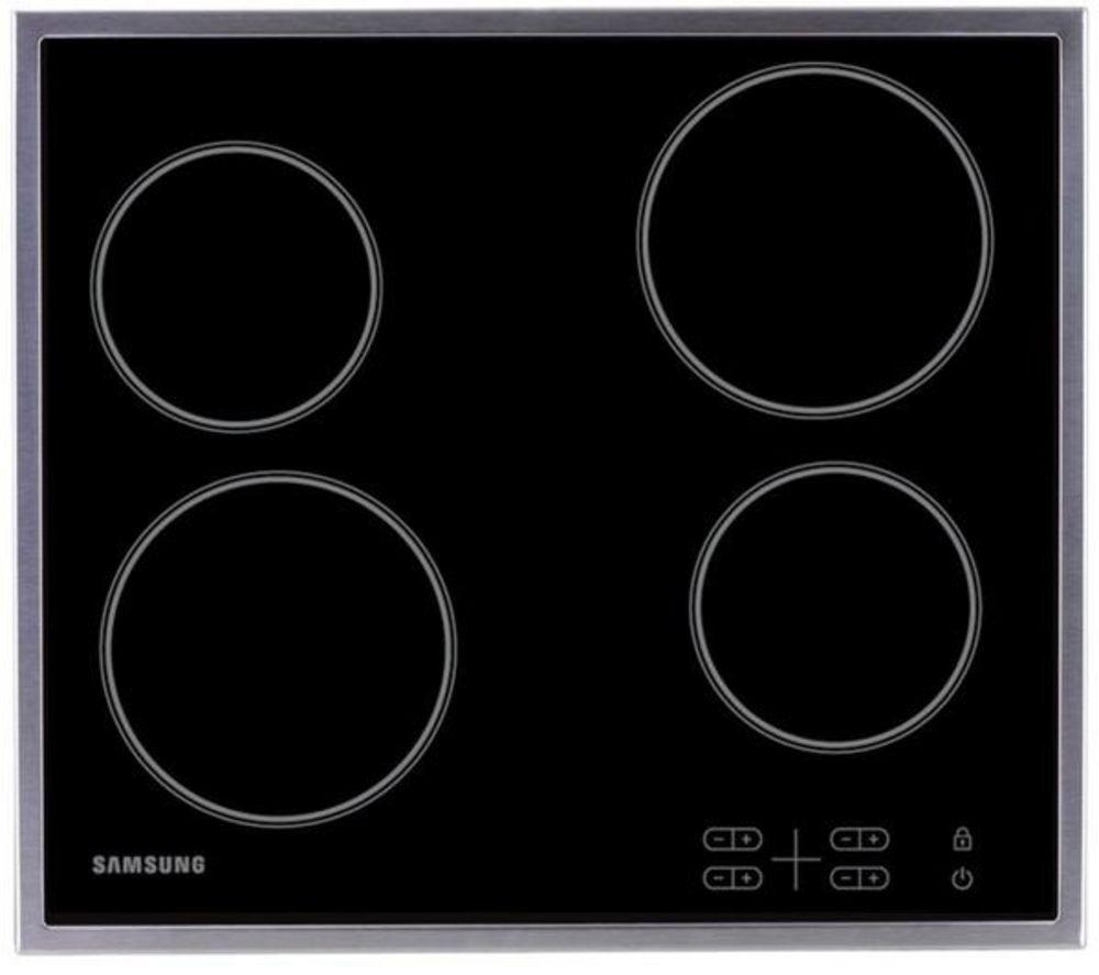 SAMSUNG C61R1AAMST/XEU Electric Ceramic Hob - Black, Black