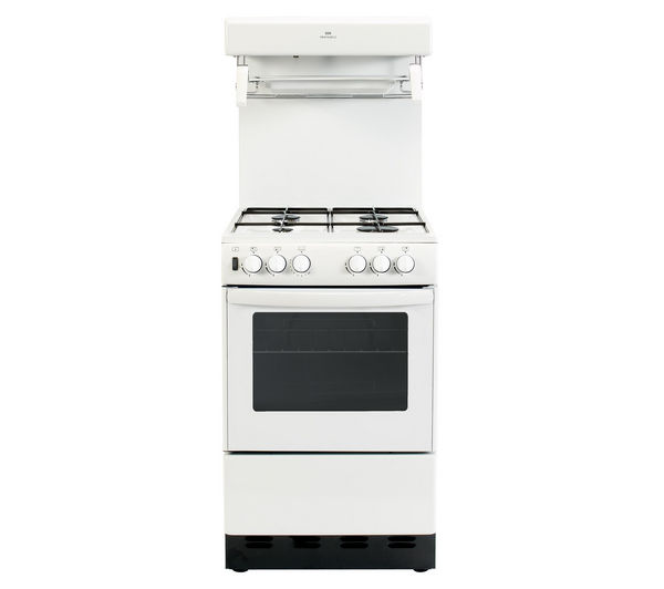NEW WORLD NW55THLG Gas Cooker - White
