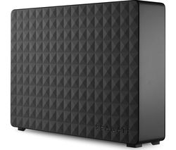 SEAGATE Expansion External Hard Drive - 3 TB, Black