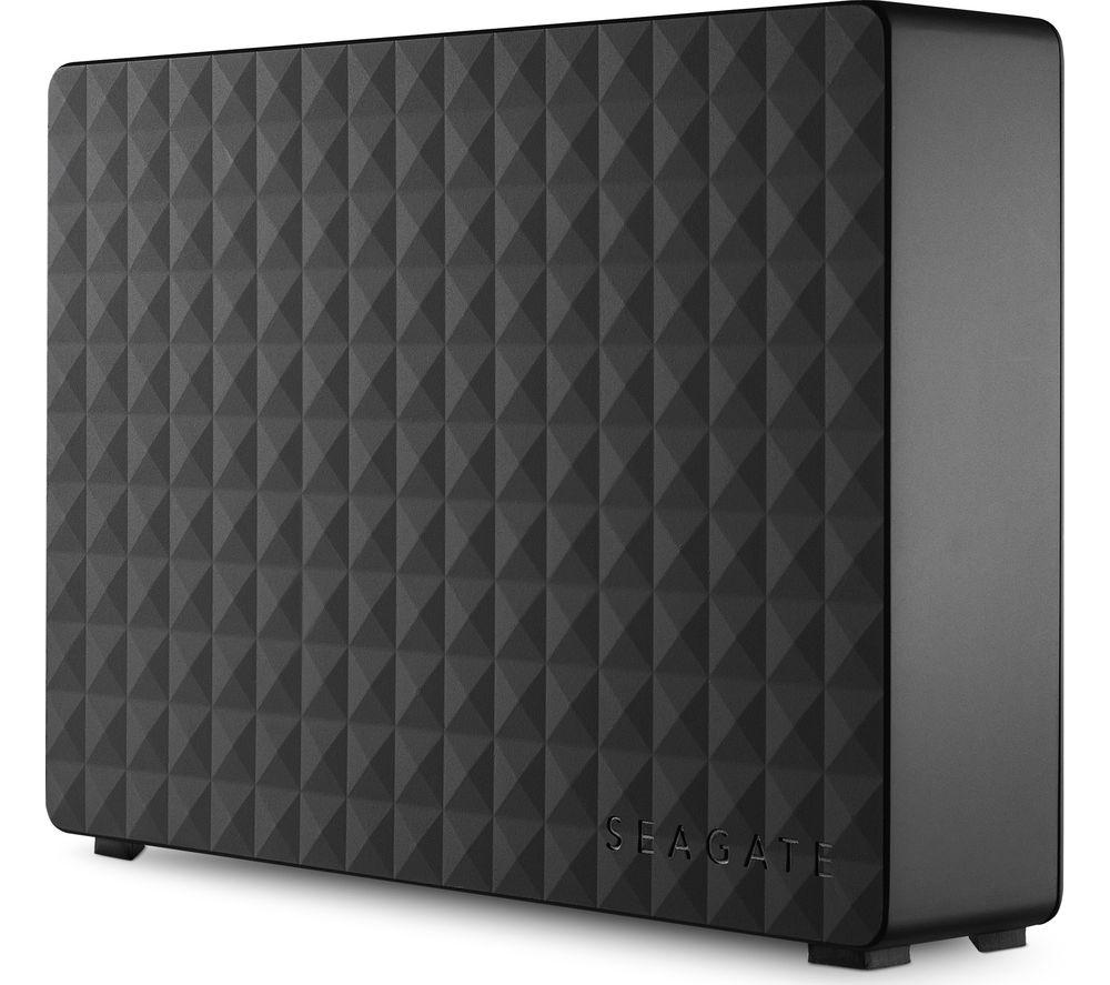 SEAGATE Expansion External Hard Drive - 3 TB, Black