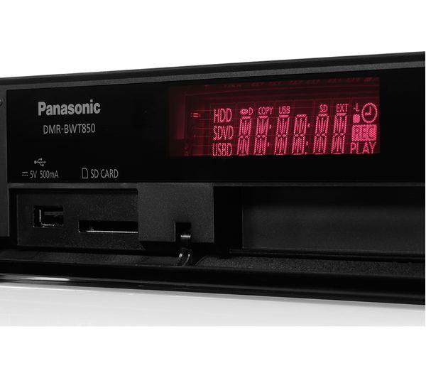 Buy Panasonic Dmr Bwt850eb Smart 3d Blu Ray Amp Dvd Player
