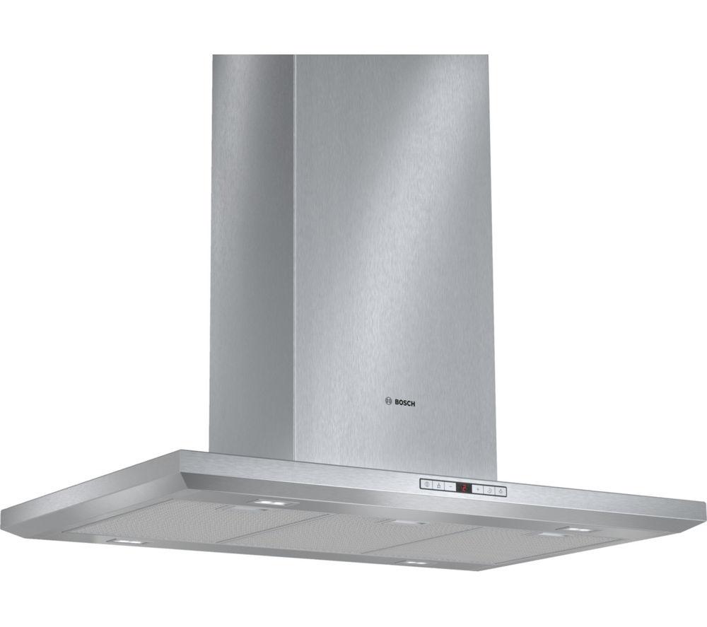 BOSCH Serie 8 Exxcel DIB091U51B Chimney Cooker Hood - Stainless Steel
