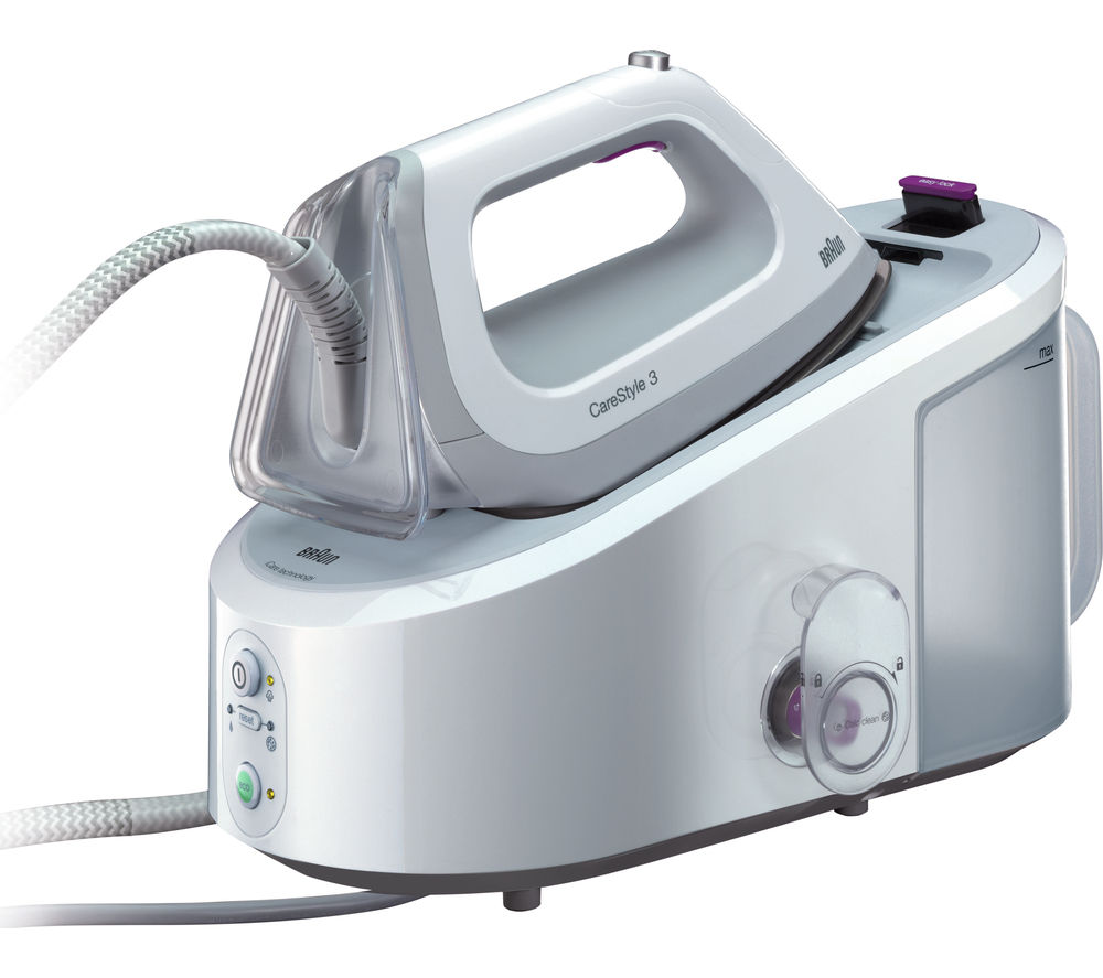 BRAUN CareStyle 3 IS3044 Steam Generator Iron - White, Braun